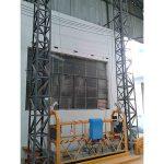 10m güclü alüminium ip asma platforma zlp1000 tək fazlı 2 * 2.2kw