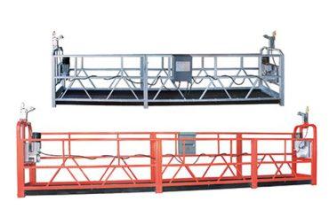 3 nəfərlik iş üçün 10m polad / alüminium dayandırılmış giriş avadanlıqları zlp1000