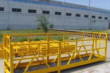 zlp 800 yüksək mərtəbəli bina pəncərə təmizləyici platform 300m 2,5m * 3 1.8kw 800kg