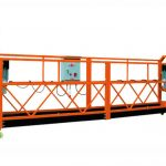 2.5mx 3 hissə 1000kg asma giriş platforma qaldırma sürəti 8-10m / dəq